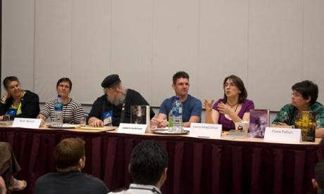 De la stinga la dreapta — Mindy Klasky, M. D. Benoit, GRRM, Joshua Palmatier, Laura Anne Gilman si Fiona Patton