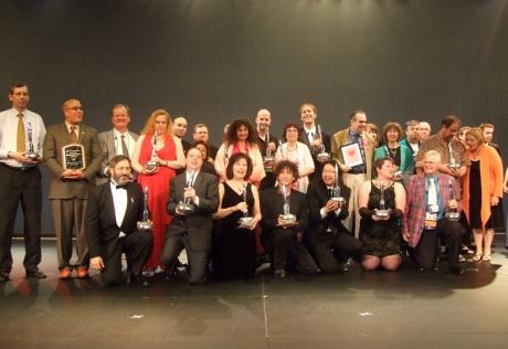 Premiantii Hugo 2009 impreuna cu personalitatile care le-au inminat premiile